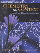 Chemistry in Context 4th edition 9780072424577 0072424575