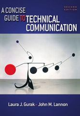 A Concise Guide to Technical Communication 2nd edition 9780321146151 0321146158