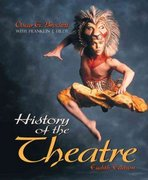 History of the Theatre 8th Edition 9780205281718 0205281710
