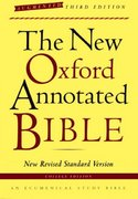 The New Oxford Annotated Bible, Augmented Third Edition, New Revised Standard Version 3rd edition 9780195288773 0195288777