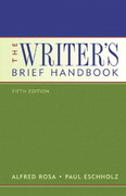 The Writer's Brief Handbook (with MyCompLab) 5th edition 9780321323569 0321323564