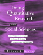 Doing Quantitative Research in the Social Sciences 1st edition 9780761953524 0761953523