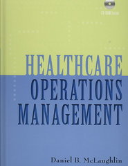 Healthcare Operations Management 1st edition 9781567932881 1567932886