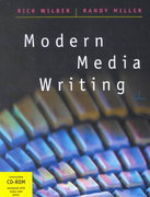 Modern Media Writing (with CD-ROM, High School/Retail Version) 1st Edition 9780534520526 0534520529