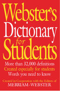 Webster's Dictionary for Students 1st Edition 9781892859556 1892859556
