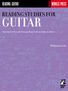 Reading Studies for Guitar 1st Edition 9780634013355 0634013351