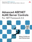 Advanced ASP.NET AJAX Server Controls For .NET Framework 3.5 1st edition 9780321514448 0321514440
