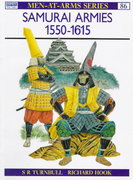 Samurai Armies 1550–1615 0 9780850453027 085045302X