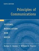 Principles of Communications 6th Edition 9780470252543 0470252545