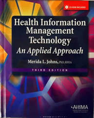 Health Information Management Technology 3rd edition 9781584262596 1584262591