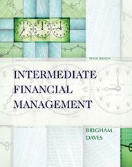 Intermediate Financial Management (Book Only) 1st edition 9780324594713 0324594712