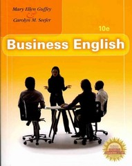 Business English (Book Only) 10th edition 9780324789751 0324789750