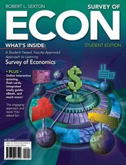 Survey of ECON (Book Only) 1st edition 9780538478113 053847811X