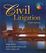 Civil Litigation (Book Only) 5th edition 9781111319083 1111319081