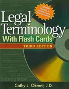 Legal Terminology with Flashcards (Book Only) 3rd edition 9781111319137 1111319138
