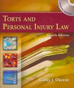 Torts and Personal Injury Law (Book Only) 4th edition 9781111319144 1111319146