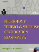 Phlebotomy Technician Specialist 1st edition 9781111321031 1111321035