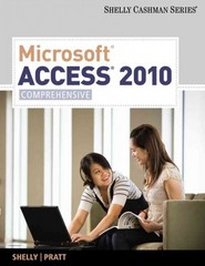 Microsoft Access 2010 1st edition 9781439079027 1439079021