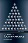 Applied Combinatorics 6th Edition 9780470458389 0470458380