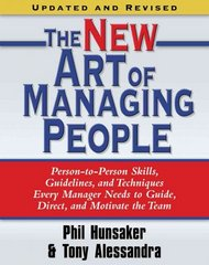 The New Art of Managing People, Updated and Revised 0 9781416550624 1416550623