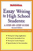 Essay Writing for High School Students: A Step-by-Step Guide 2nd edition 9780743252010 0743252012
