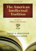 The American Intellectual Tradition 6th Edition 9780195392937 0195392930