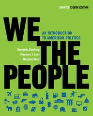 We the People 8th edition 9780393935240 0393935248
