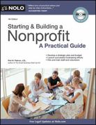 Starting and Building a Nonprofit 4th Edition 9781413313291 1413313299
