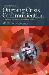 Ongoing Crisis Communication 3rd Edition 9781412983105 141298310X