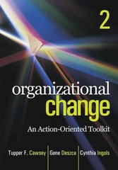 Organizational Change 2nd Edition 9781412982856 1412982855