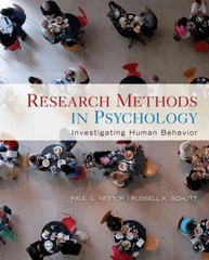 Research Methods in Psychology 1st Edition 9781412960496 1412960495
