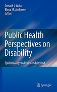Public Health Perspectives on Disability 1st edition 9781441973405 1441973400