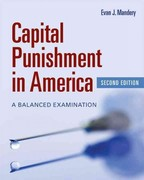 Capital Punishment In America 2nd Edition 9781449605988 1449605982