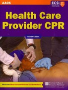 Health Care Provider CPR 4th Edition 9781449609511 1449609511