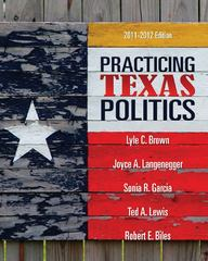 Practicing Texas Politics 14th edition 9780495802846 0495802840