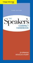 Cengage Advantage Books: The Speaker's Compact Handbook 3rd edition 9781133169833 113316983X
