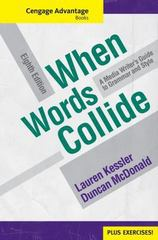 Cengage Advantage Books: When Words Collide (with Student Workbook) 8th Edition 9780495901440 049590144X