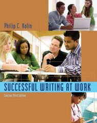 Successful Writing at Work 3rd edition 9780495901945 0495901946