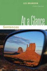 At a Glance: Sentences 5th edition 9780495906377 0495906379