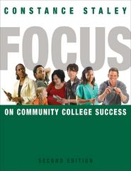 FOCUS on Community College Success 2nd Edition 9780495906438 0495906433