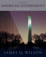 American Government 10th edition 9781133170280 1133170285