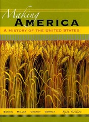 Making America 6th edition 9780495909798 0495909793