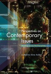 Perspectives on Contemporary Issues 6th Edition 9780495912927 0495912921