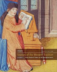 Sources of the Western Tradition, Volume 1 8th edition 9780495913207 0495913200