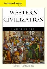 Cengage Advantage Books: Western Civilization, Complete 8th edition 9780495913276 0495913278