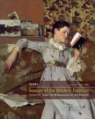 Sources of the Western Tradition, Volume 2 8th edition 9780495913214 0495913219