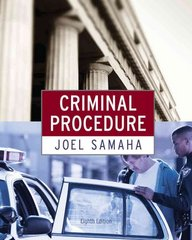 Criminal Procedure 8th Edition 9780495913351 0495913359