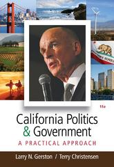 California Politics and Government 11th edition 9780495913450 0495913456