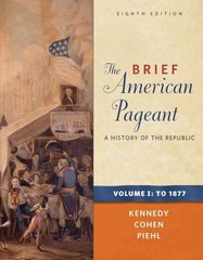 The Brief American Pageant 8th edition 9780495915355 0495915351