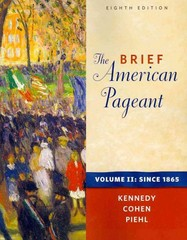 The Brief American Pageant 8th edition 9780495915379 0495915378